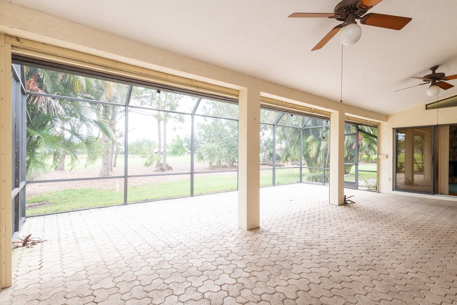 Real Estate Photography - 1947 Princess CT, Naples, FL, 34110 - Patio
