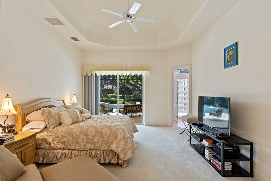Real Estate Photography - 918 Tierra Lago Way, Naples, FL, 34119 - Master Bedroom