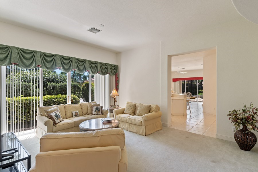 Real Estate Photography - 918 Tierra Lago Way, Naples, FL, 34119 - Living Room