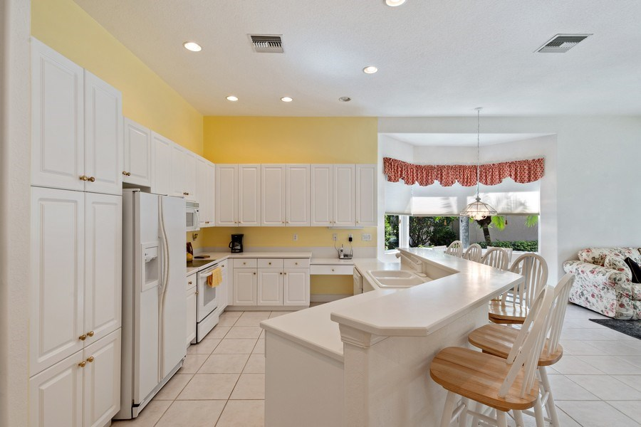 Real Estate Photography - 918 Tierra Lago Way, Naples, FL, 34119 - Kitchen