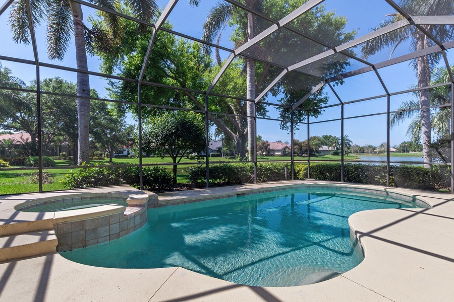 Real Estate Photography - 918 Tierra Lago Way, Naples, FL, 34119 - Pool