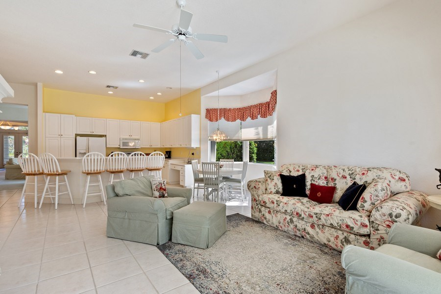 Real Estate Photography - 918 Tierra Lago Way, Naples, FL, 34119 - Family Room / Kitchen