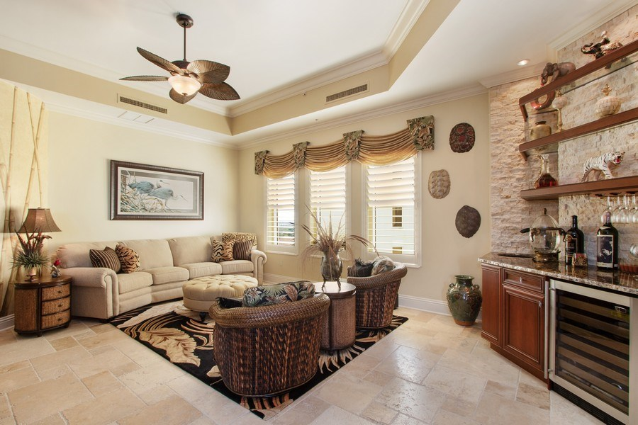 Real Estate Photography - 14270 Royal Harbour, 1020, Fort Myers, FL, 33908 - Living Room