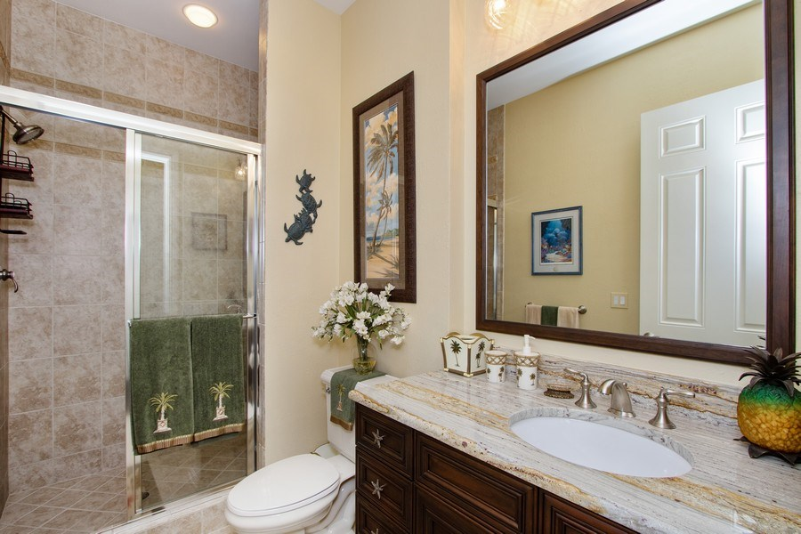 Real Estate Photography - 14270 Royal Harbour, 1020, Fort Myers, FL, 33908 - 3rd Bathroom