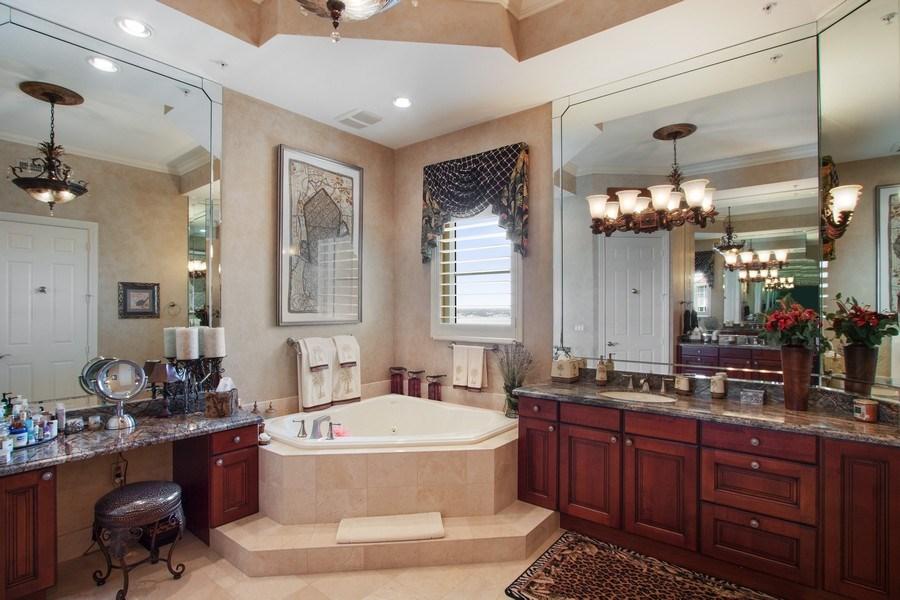 Real Estate Photography - 14270 Royal Harbour, 1020, Fort Myers, FL, 33908 - Master Bathroom