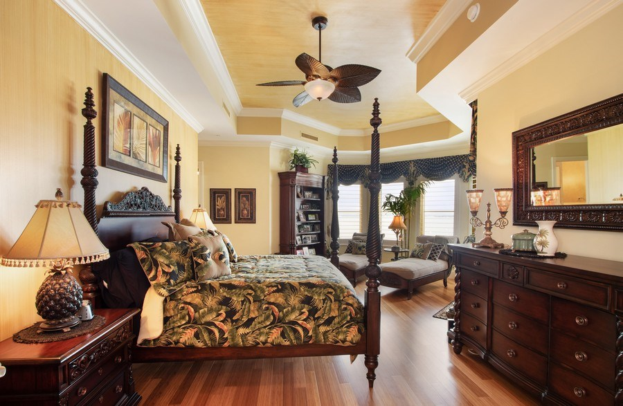 Real Estate Photography - 14270 Royal Harbour, 1020, Fort Myers, FL, 33908 - Master Bedroom