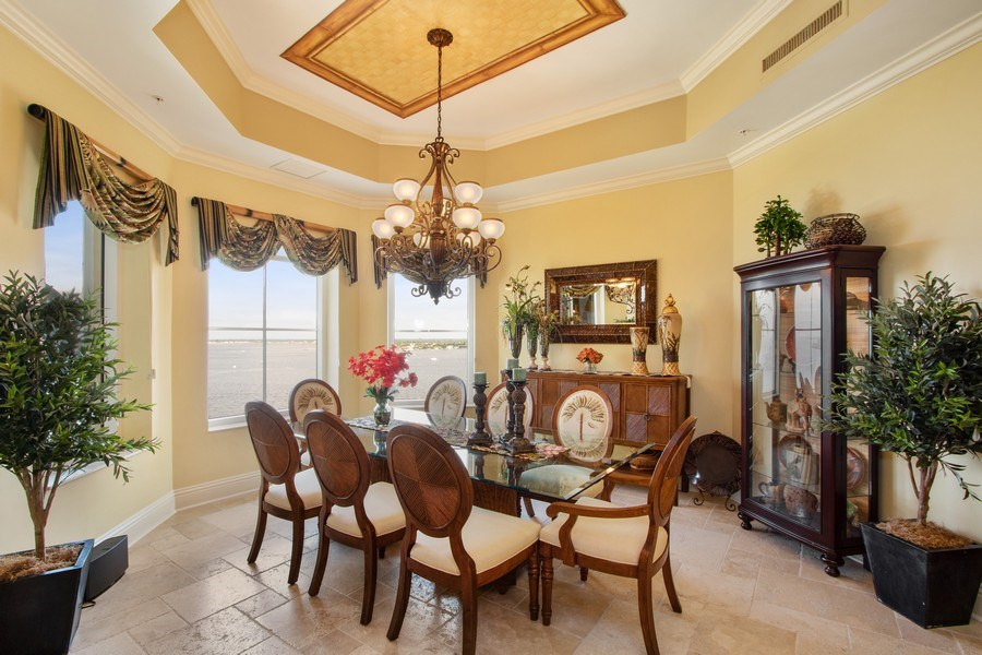 Real Estate Photography - 14270 Royal Harbour, 1020, Fort Myers, FL, 33908 - Dining Room