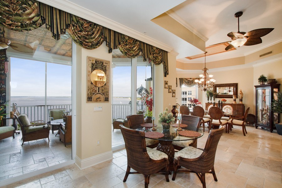 Real Estate Photography - 14270 Royal Harbour, 1020, Fort Myers, FL, 33908 - Breakfast Area