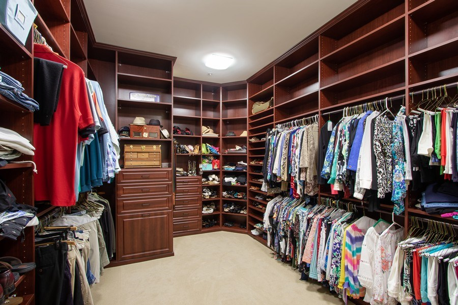 Real Estate Photography - 14270 Royal Harbour, 1020, Fort Myers, FL, 33908 - Master Bedroom Closet