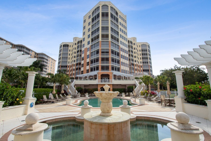 Real Estate Photography - 14270 Royal Harbour, 1020, Fort Myers, FL, 33908 - Rear View