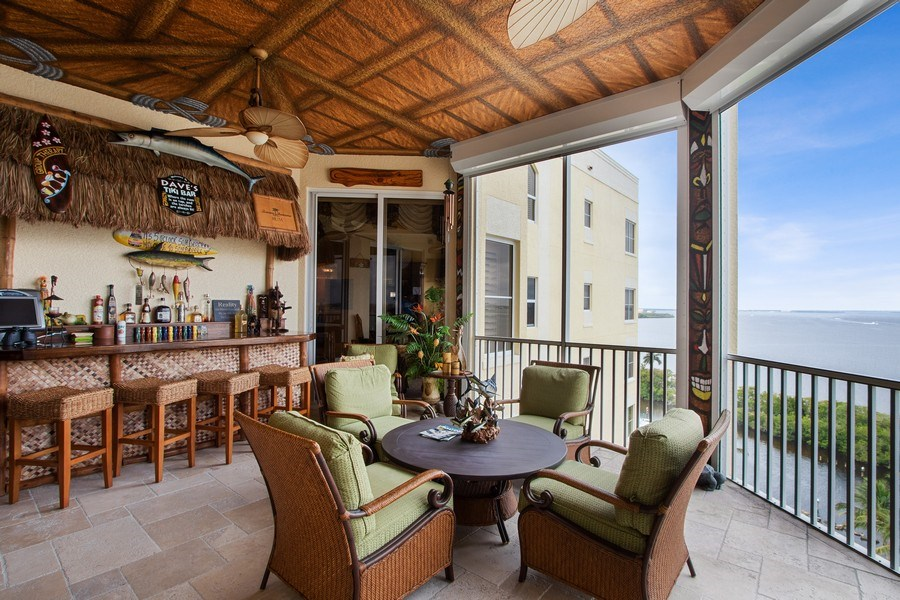 Real Estate Photography - 14270 Royal Harbour, 1020, Fort Myers, FL, 33908 - Lanai