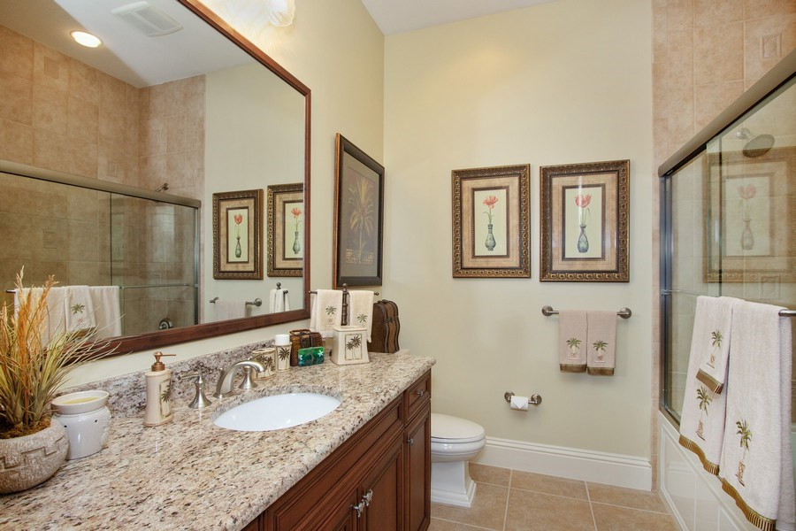 Real Estate Photography - 14270 Royal Harbour, 1020, Fort Myers, FL, 33908 - 2nd Bathroom