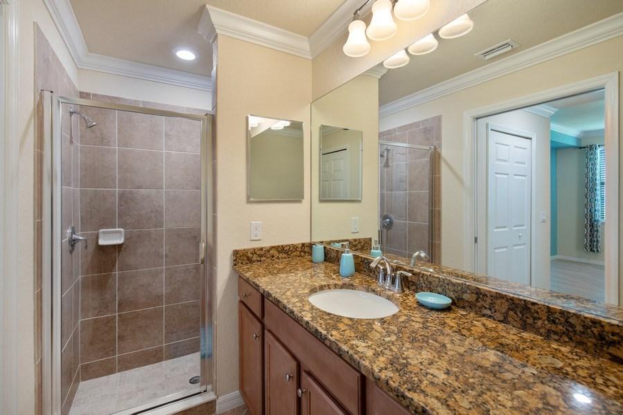 Real Estate Photography - 17971 Bonita National Blvd. #611, Bonita National, FL, 34135 - Master Bathroom