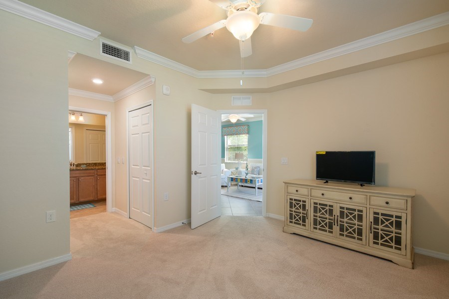 Real Estate Photography - 17971 Bonita National Blvd. #611, Bonita National, FL, 34135 - Master Bedroom