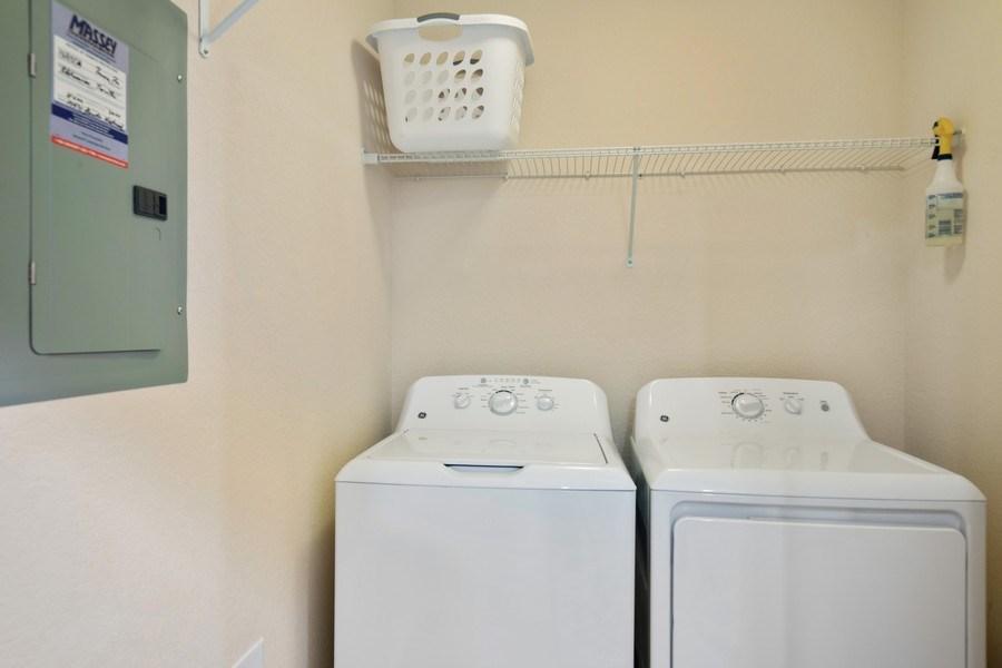 Real Estate Photography - 17971 Bonita National Blvd. #611, Bonita National, FL, 34135 - Laundry Room