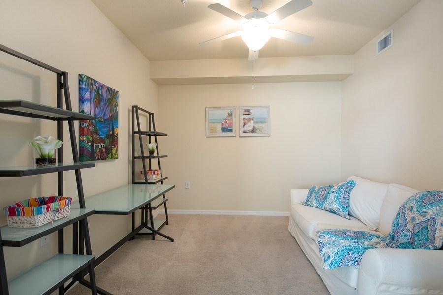 Real Estate Photography - 17971 Bonita National Blvd. #611, Bonita National, FL, 34135 - Den