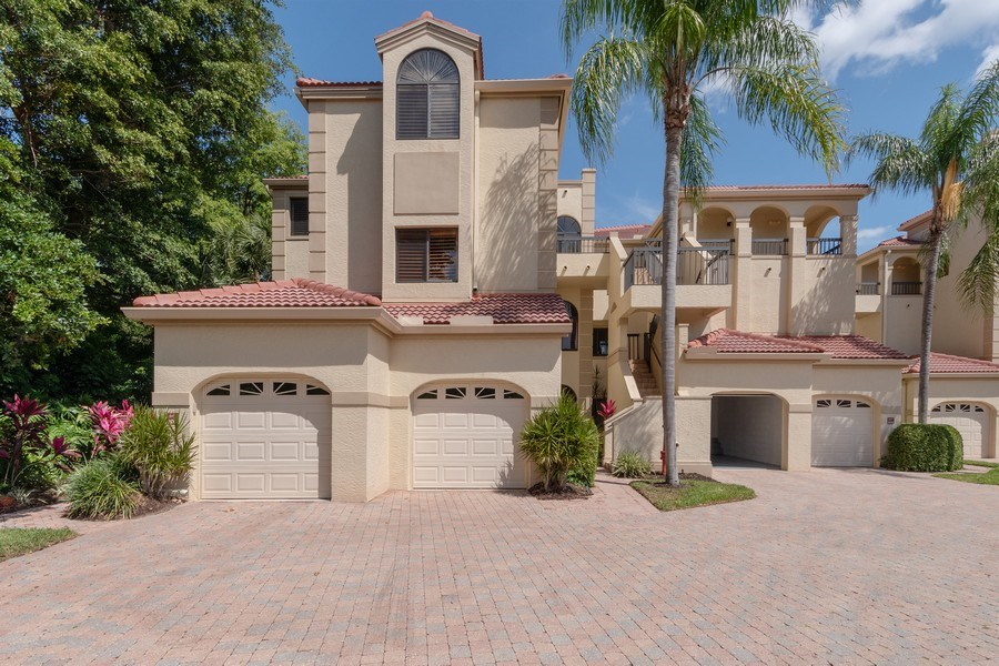 Real Estate Photography - 7048 Pelican Bay Blvd. C-105, Naples, FL, 34108 - Front View