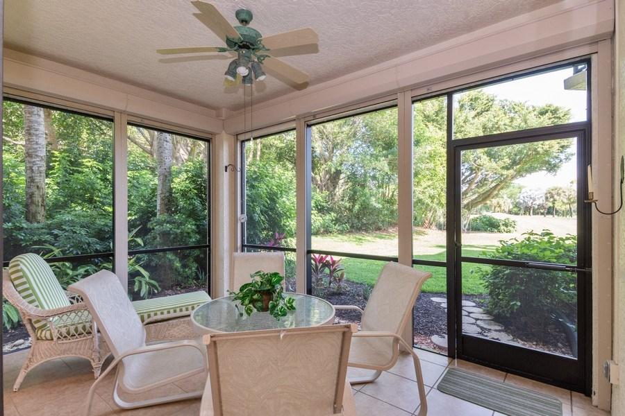 Real Estate Photography - 7048 Pelican Bay Blvd. C-105, Naples, FL, 34108 - Patio