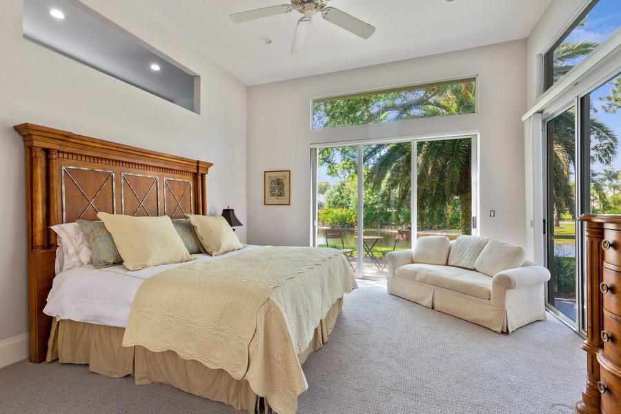 Real Estate Photography - 109 Greenfield Ct, Naplles, FL, 34110 - Master Bedroom