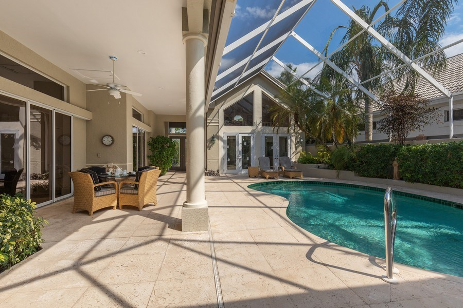 Real Estate Photography - 109 Greenfield Ct, Naplles, FL, 34110 - Pool
