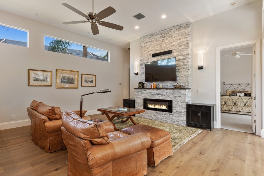 Real Estate Photography - 109 Greenfield Ct, Naplles, FL, 34110 - Family Room