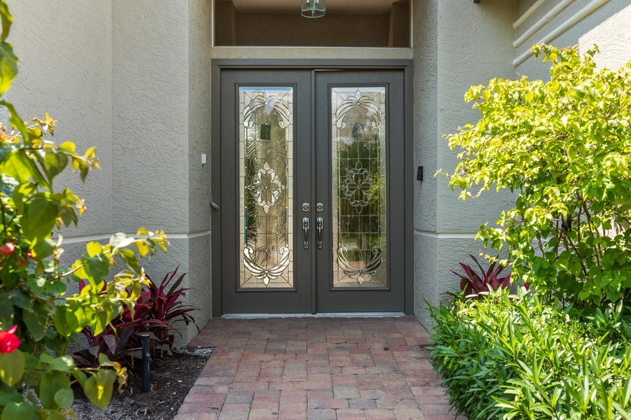 Real Estate Photography - 109 Greenfield Ct, Naplles, FL, 34110 - Entrance