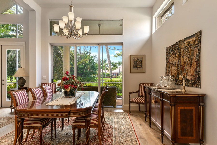 Real Estate Photography - 109 Greenfield Ct, Naplles, FL, 34110 - Dining Room