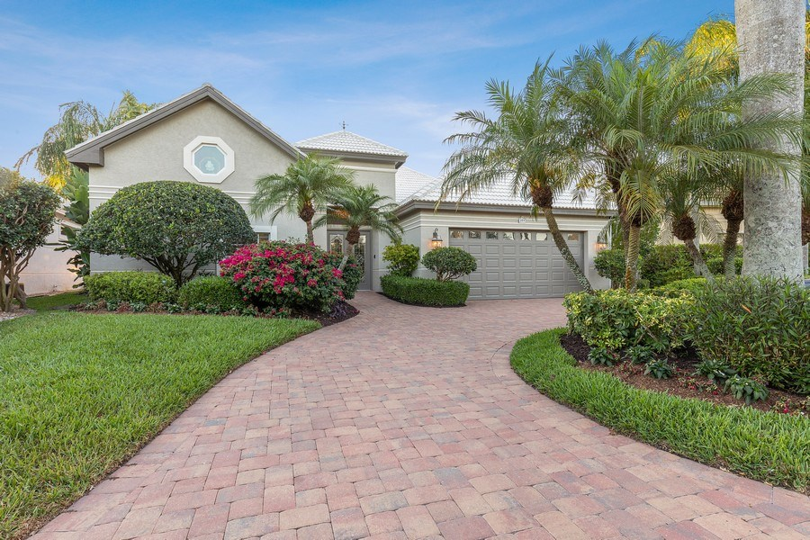 Real Estate Photography - 109 Greenfield Ct, Naplles, FL, 34110 - Front View