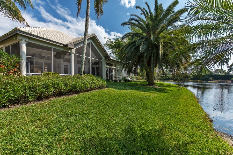 Real Estate Photography - 109 Greenfield Ct, Naplles, FL, 34110 - Rear View