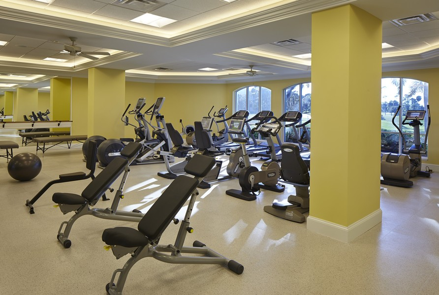 Real Estate Photography - 109 Greenfield Ct, Naplles, FL, 34110 - Fitness Center