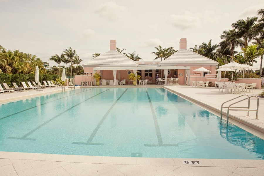 Real Estate Photography - 109 Greenfield Ct, Naplles, FL, 34110 - Community Pool