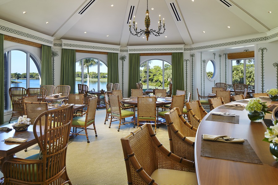 Real Estate Photography - 109 Greenfield Ct, Naplles, FL, 34110 - Club House Pub Room