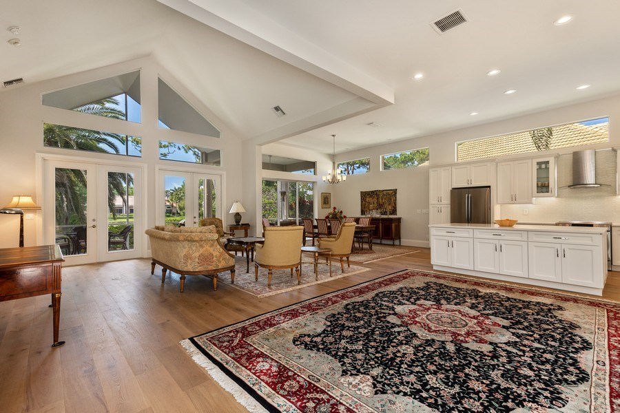 Real Estate Photography - 109 Greenfield Ct, Naplles, FL, 34110 - Living Room/Dining Room