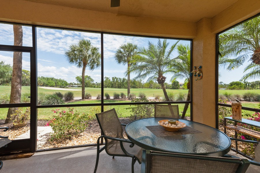 Real Estate Photography - 20800 Hammock Greens Ln, Unit 105, Estero, FL, 33928 - View