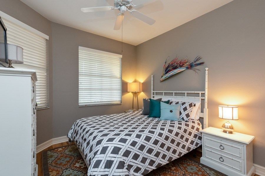 Real Estate Photography - 20800 Hammock Greens Ln, Unit 105, Estero, FL, 33928 - 2nd Bedroom