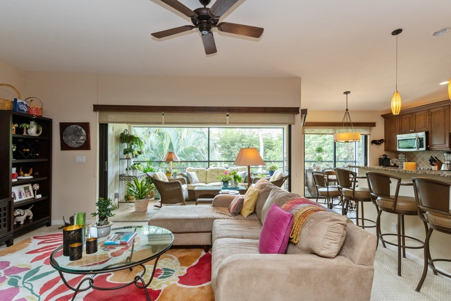 Real Estate Photography - 929 8th Ave S, Naples, FL, 34102 - Living Room