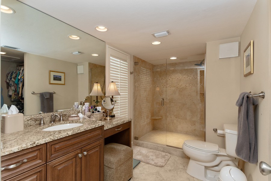 Real Estate Photography - 929 8th Ave S, Naples, FL, 34102 - Master Bathroom