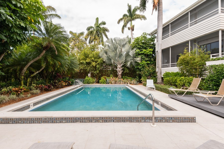 Real Estate Photography - 929 8th Ave S, Naples, FL, 34102 - Heated Pool