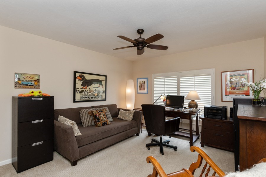 Real Estate Photography - 929 8th Ave S, Naples, FL, 34102 - Guest Bedroom/ Den