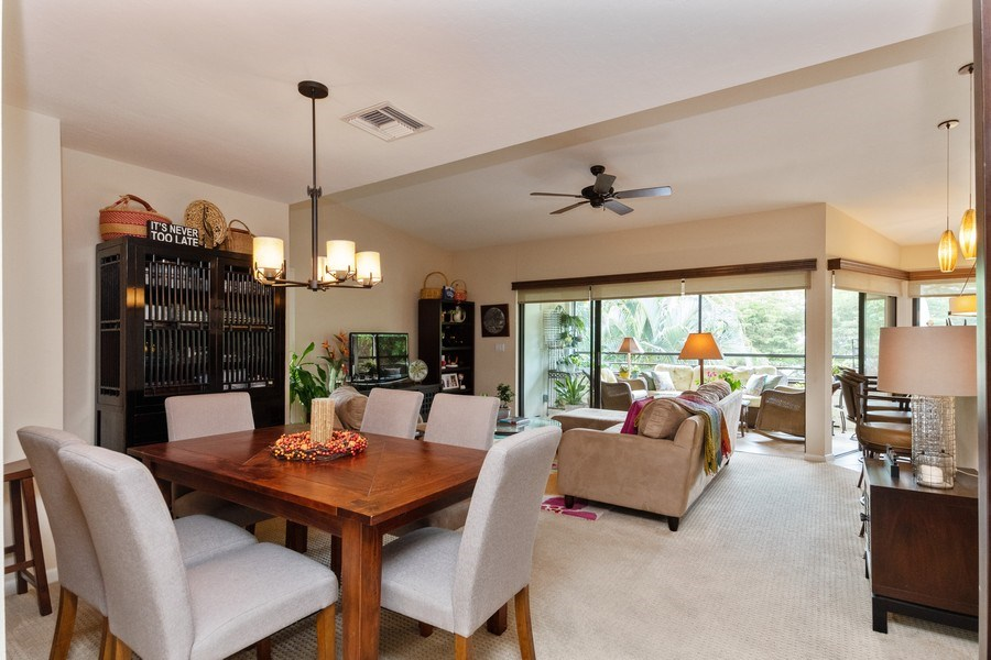 Real Estate Photography - 929 8th Ave S, Naples, FL, 34102 - Living Room/Dining Room