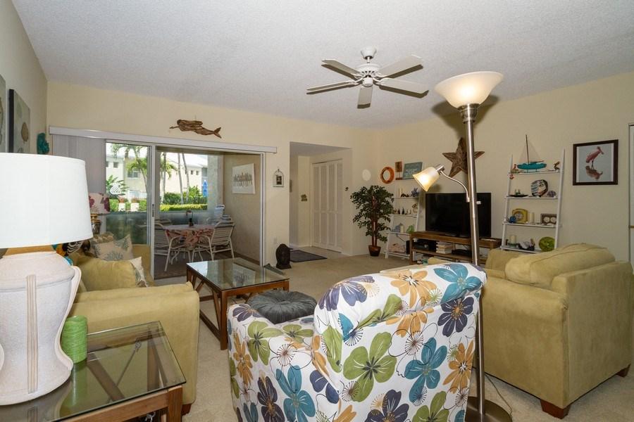 Real Estate Photography - 5805 Glencove Dr #704, Naples, FL, 34108 - Living Room