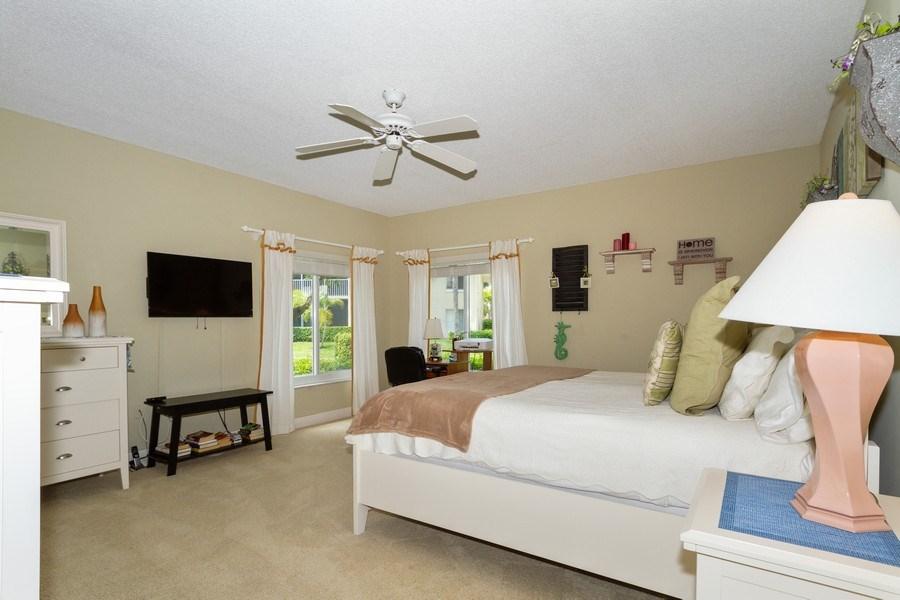 Real Estate Photography - 5805 Glencove Dr #704, Naples, FL, 34108 - Master Bedroom
