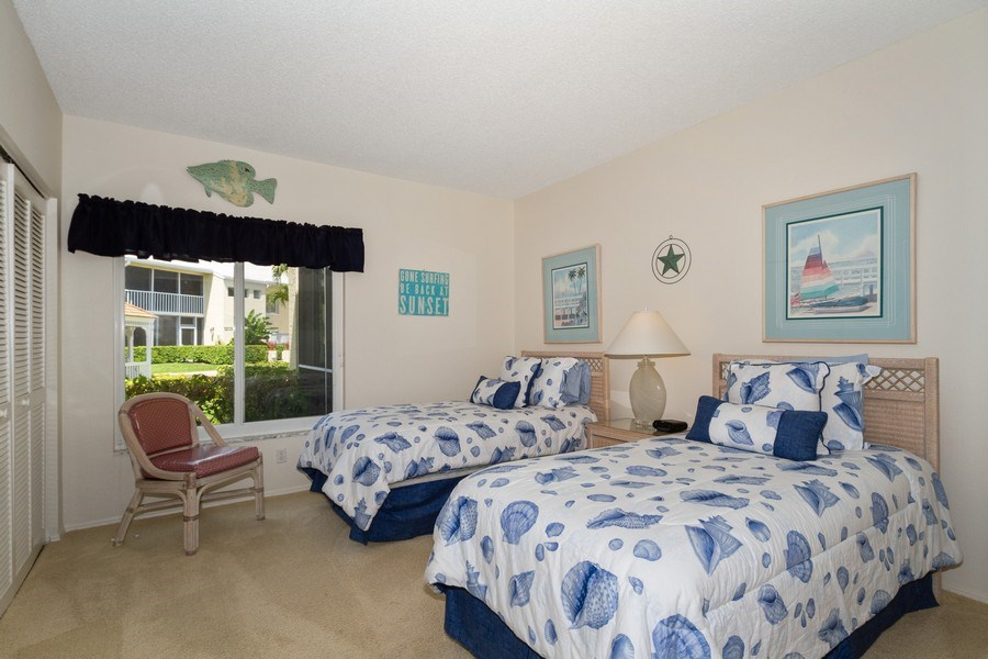 Real Estate Photography - 5805 Glencove Dr #704, Naples, FL, 34108 - Bedroom