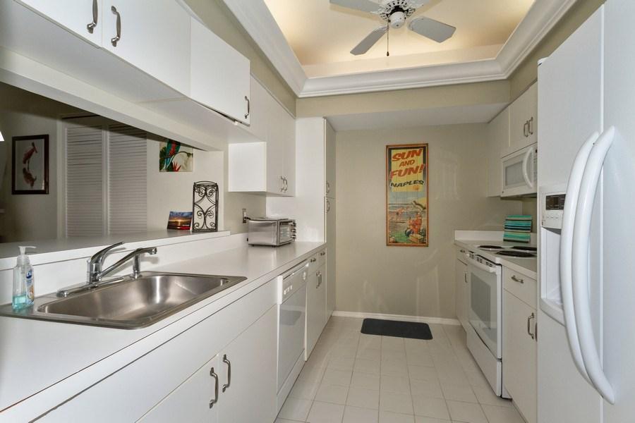 Real Estate Photography - 5805 Glencove Dr #704, Naples, FL, 34108 - Kitchen