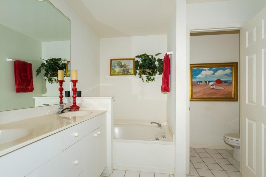 Real Estate Photography - 1036 Egrets Walk Circle #104, Naples, FL, 34108 - Master Bathroom