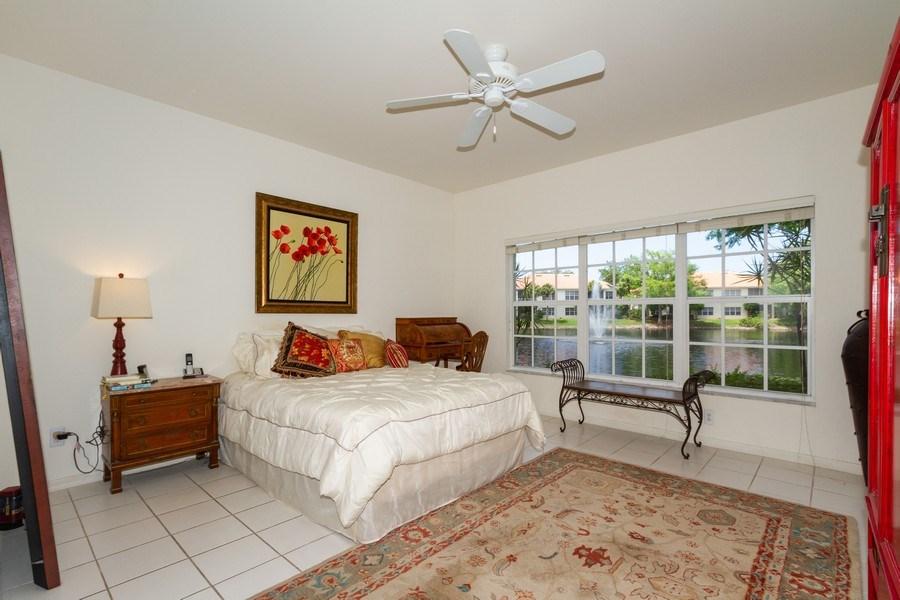 Real Estate Photography - 1036 Egrets Walk Circle #104, Naples, FL, 34108 - Master Bedroom