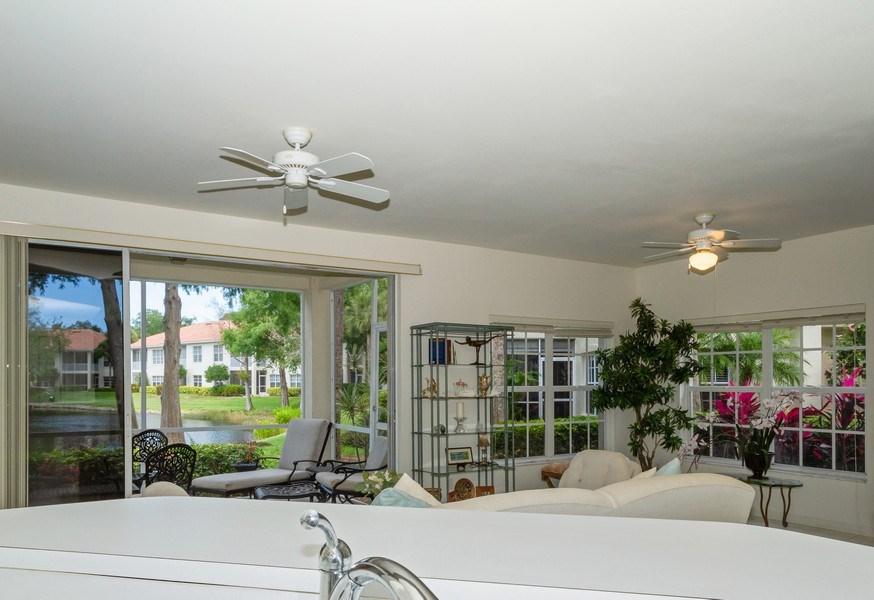 Real Estate Photography - 1036 Egrets Walk Circle #104, Naples, FL, 34108 - Kitchen