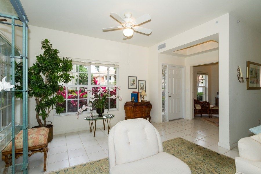 Real Estate Photography - 1036 Egrets Walk Circle #104, Naples, FL, 34108 - Entrance