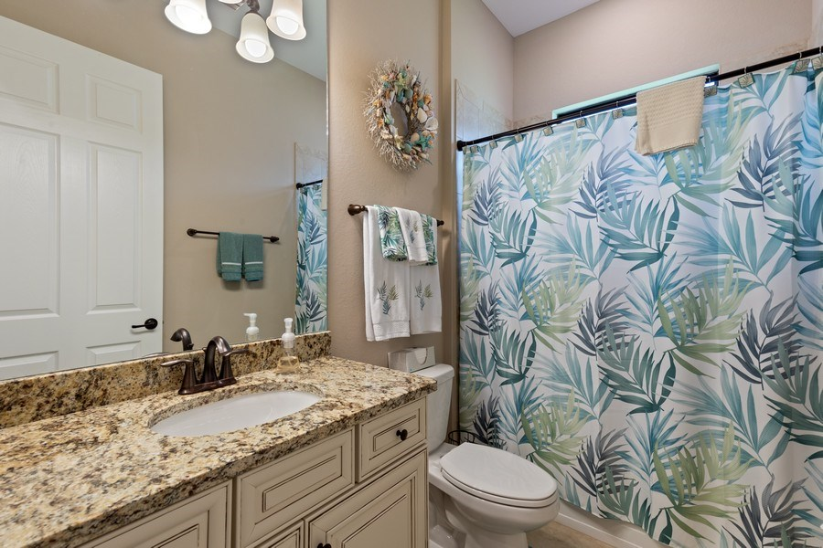 Real Estate Photography - 17571 Monaghan Run, Bonita Springs, FL, 34135 - 3rd Bathroom