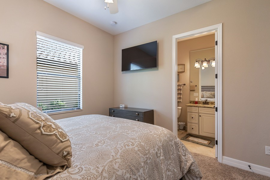Real Estate Photography - 17571 Monaghan Run, Bonita Springs, FL, 34135 - 2nd Bedroom